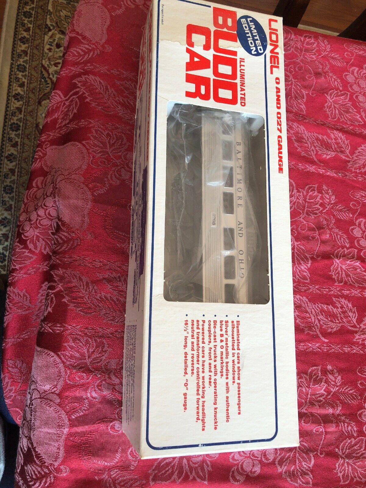 Lionel 8768 Illuminated Budd RDC -1 Commuter Train Passenger Car New