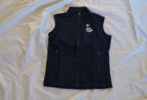 Midnight Navy Heather Ouray Sportswear NCAA Gonzaga Bulldogs Mens Guide Jacket Small