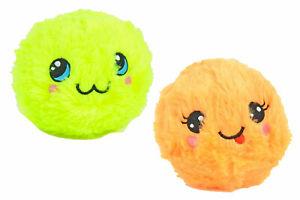 2 x BomBoms flauschiger Anti-Stress Plüschball GARY & PEPPY mit Duft Ø 12 cm
