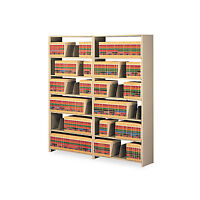 Tennsco Snap-together Seven-shelf Closed Add-on Unit Steel 36w X 12d X 88h Sand on sale