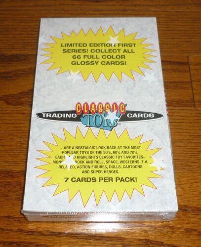 Captain Action SEALED box of Classic Toys Trading Cards Major Matt Mason,++