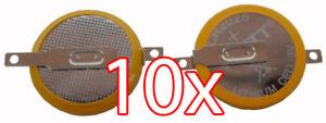 Akkus & Batterien Niedrigerer Preis Mit 10 X Cr2025 3v Batterie Mit Lötfahnen Knopfzelle Tabs Gameboy Spiele Pokemon Usw