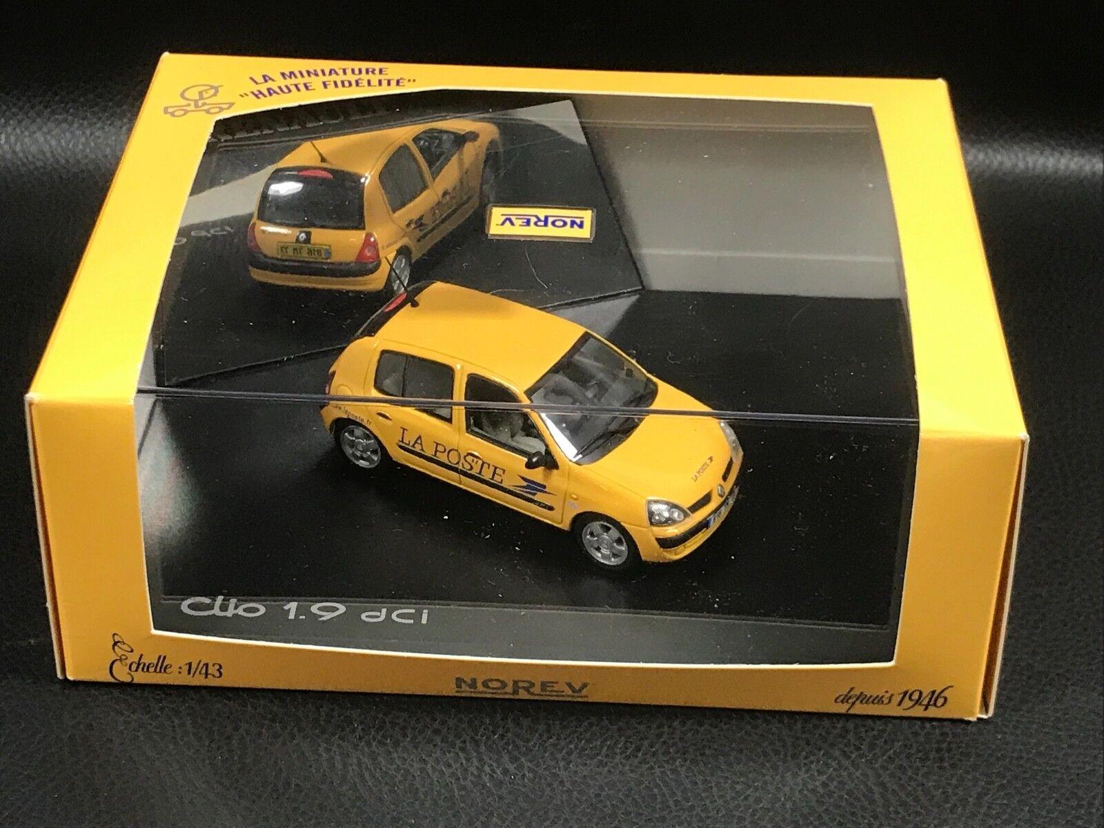 RENAULT CLIO 1,9 DCI  LA LA LA POSTE PTT NOREV 1 43 0c6454
