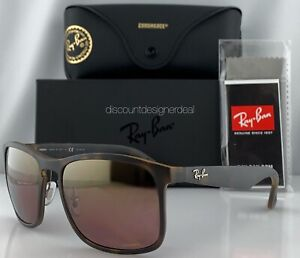 5ac4abad6f696e Image is loading Ray-Ban-RB4264CH-Sunglasses-894-6B-Matte-Havana-