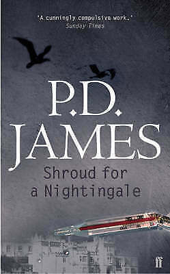"""""""VERY GOOD"""" Shroud for a Nightingale, James, Baroness P. D., Book"""