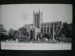 POSTCARD MALVERN PRIORY CHURCH - Tadley, United Kingdom - POSTCARD MALVERN PRIORY CHURCH - Tadley, United Kingdom
