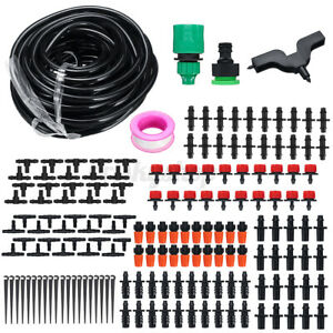 28-62-94-165-Pcs-Watering-Irrigation-Micro-Drip-Kit-Timing-Plant-Garden-Hose-E