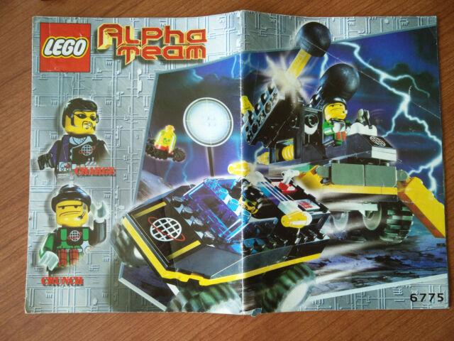 Lego Alpha Team Bomb Squad 6775 COMPLETE w/ Manual