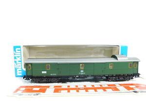 Bv77-0-5-Marklin-h0-ac-4140-D-tren-carro-para-el-equipaje-92-43-109-Communications-932-DB-muy-bien