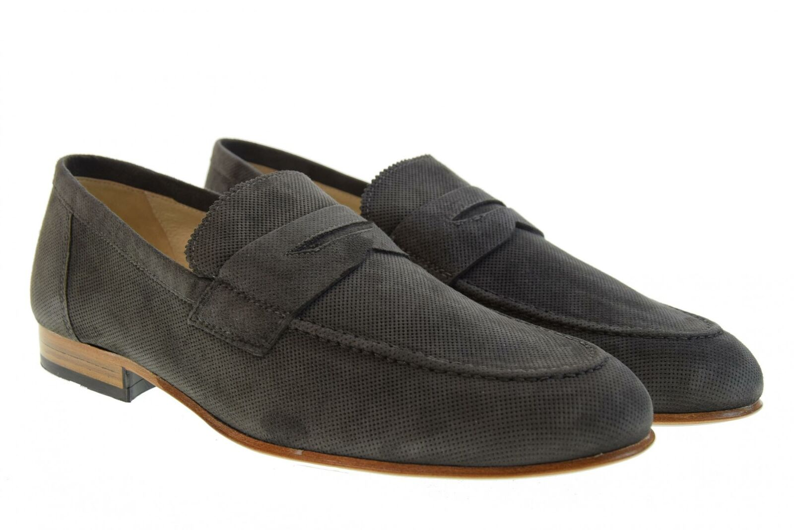 negro Giardini P19u hombres zapatos moccasins P900885U   105