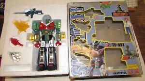 Vintage Robot Sasuraiger Shogun Mastertec Dx J9 III Rorbot dans son emballage d'origine