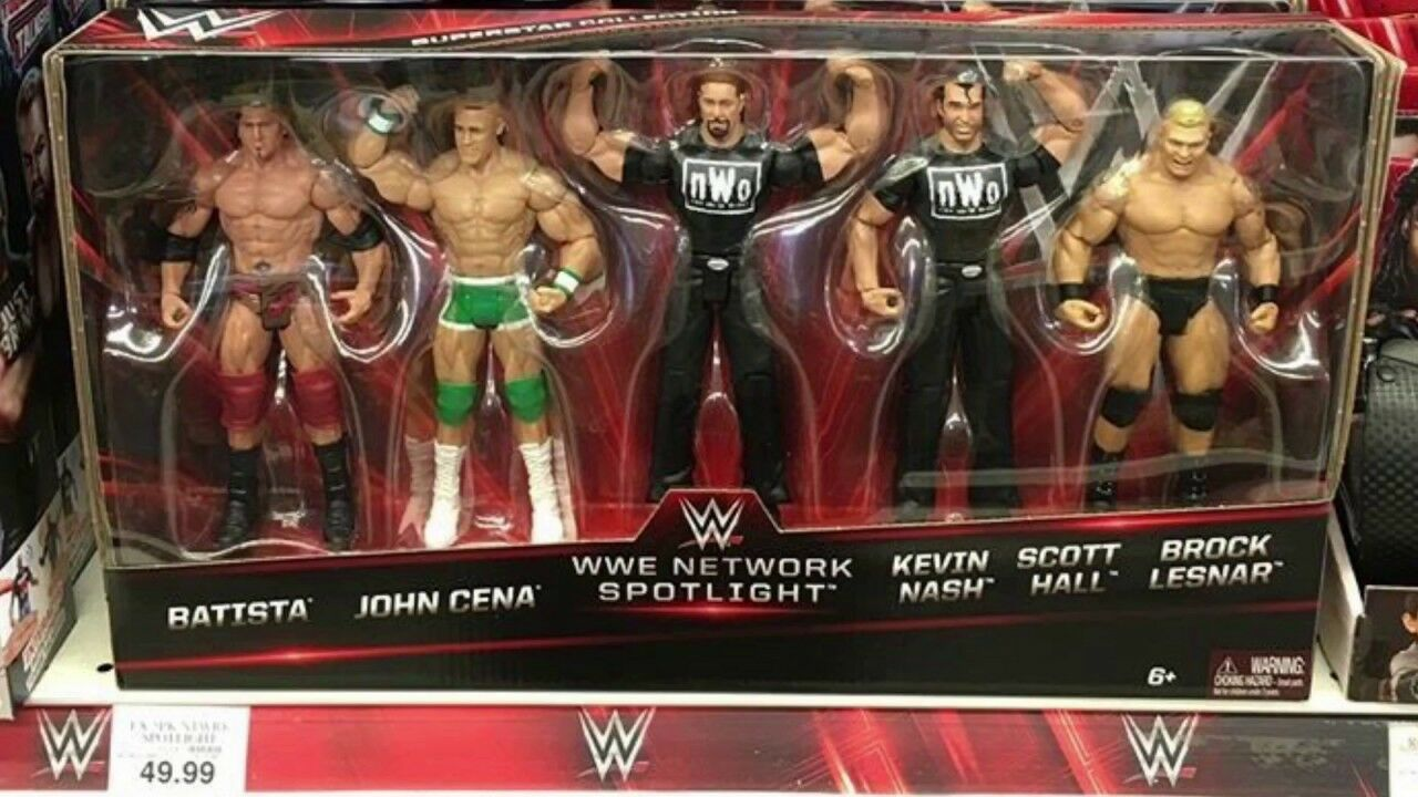 Wwe network spotlumière 5  figure set  70% de réduction
