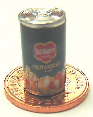 1:12 Scale Empty Tin Of Blackberries Tumdee Dolls House Kitchen Fruit Accessory