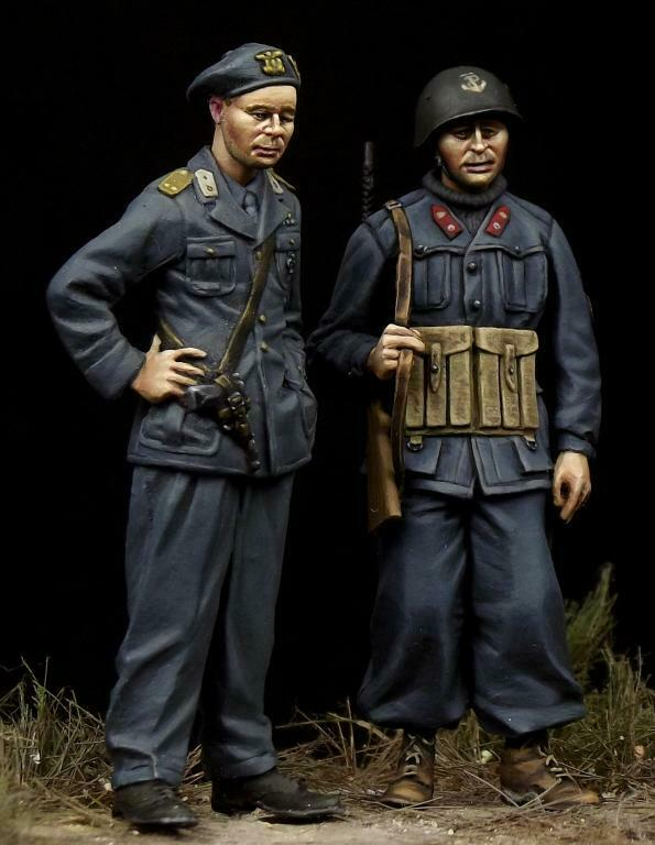 The Bodi 1 35 WWII Italian Decima MAS Commander & Soldier