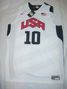promo code 34a7d 51393 Details about NWT USA Basketball Kobe Bryant Jersey Nike Large London  Olympics 2012