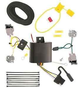 chrysler trailer wiring 2015-2017 chrysler 200 trailer hitch wiring kit harness plug & play direct t-one | ebay chrysler trailer wiring diagram