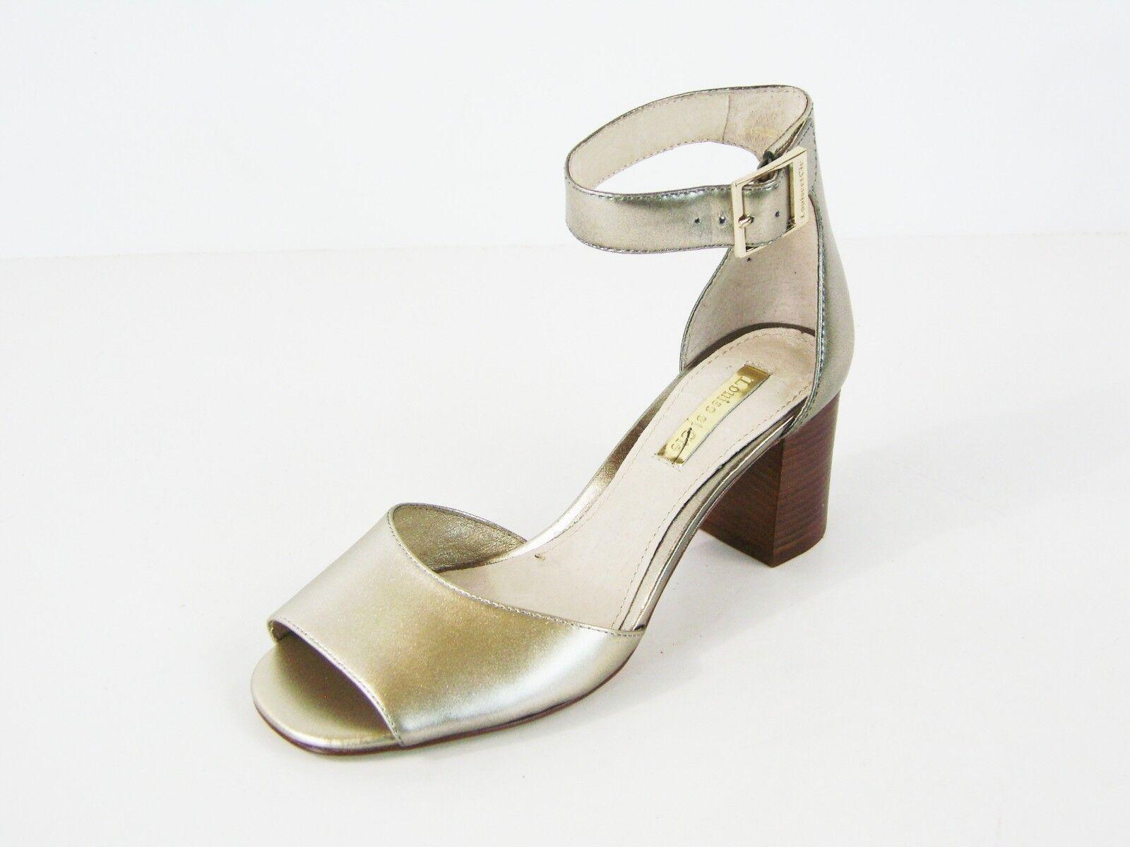 Louise et Cie Karisa Ankle Strap Sandale Platina - Platina Sandale - 5 M ca0010