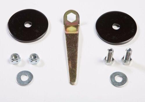 Rugged Ridge Rear Coil Spring Retainer Set FOR Wrangler JK JKU 07-18 18305.20
