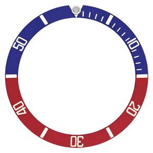 BEZEL-INSERT-FOR-40MM-INVICTA-PRO-DIVER-QUARTZ-WATCH-RED-BLUE-PEPSI-TOP-QUALITY