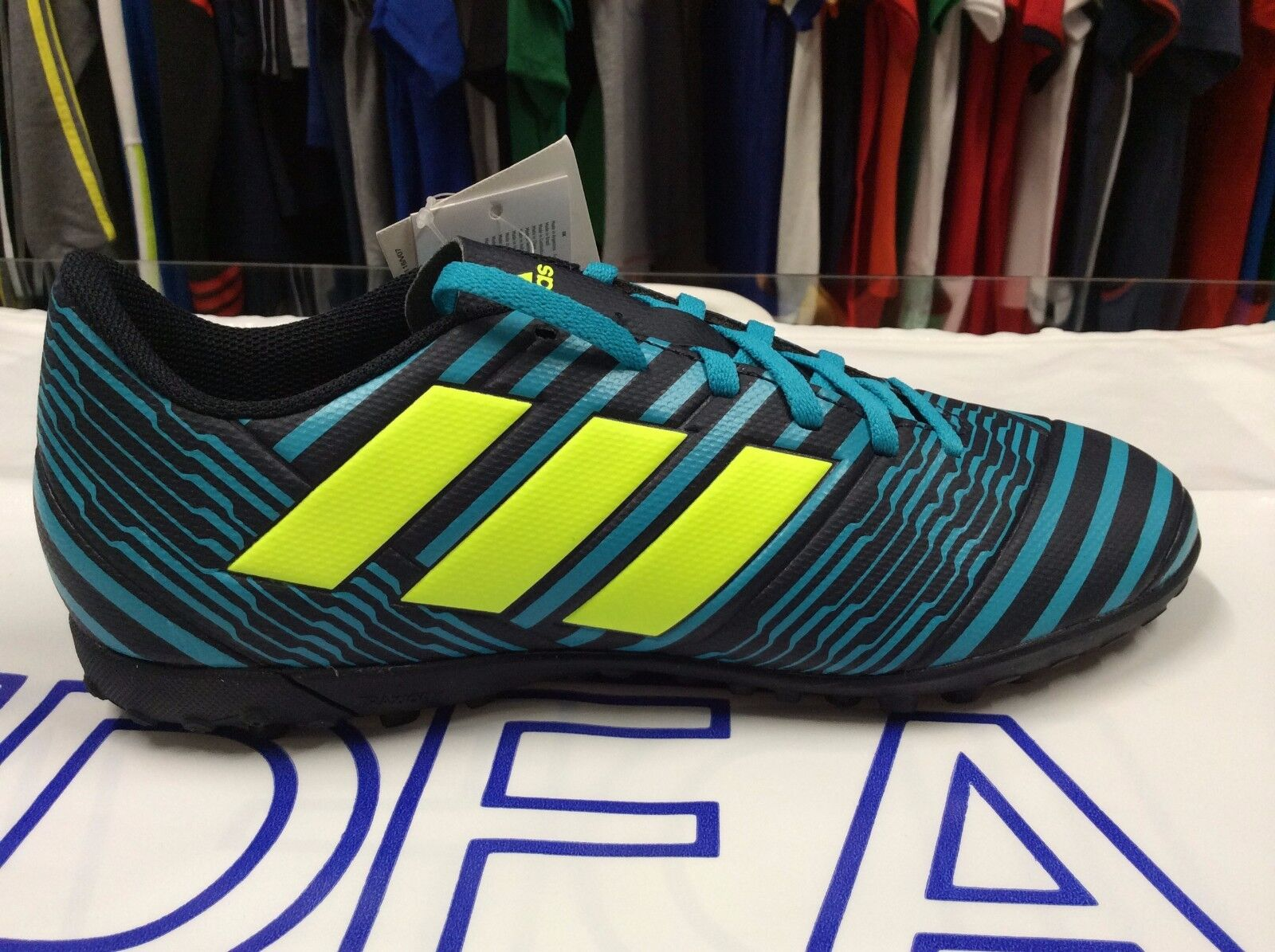 MEN'S SHOE SOCCER ADIDAS NEMEZIZ 17.4 TF art.B82477 outdoor