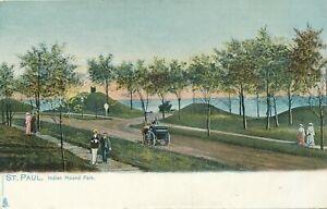 ST-PAUL-MN-Indian-Mound-Park-Tuck-Postcard-udb-pre-1908
