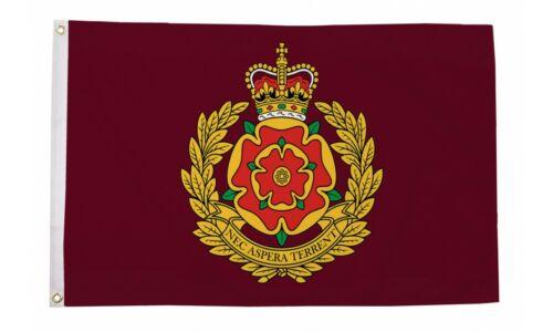 2 Eyelets Duke of Lancaster Regiment 5ft x 3ft Flag UK British Military Army