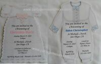 Unique Personalized Christening Or Baptism Custom Invitation For Any Occassion