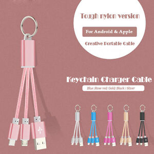 Key-Chain-Ring-USB-Charge-Data-Sync-Charger-Cable-For-Samsung-Galaxy-S8-Note-8