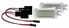 2 X LED SMD Modul Fußraumbeleuchtung Audi A3 auch Sportback Limo Cabrio WEIß
