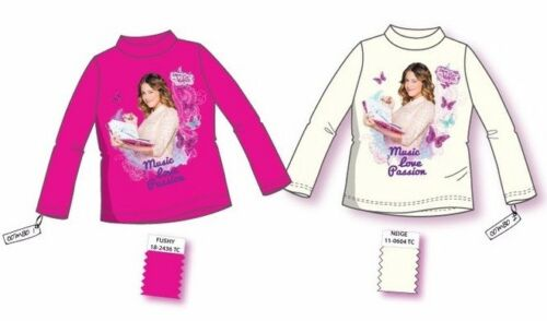 Violetta Langarmshirt Rolli 116 122 128 134 140 146 152 Disney Shirt langarm