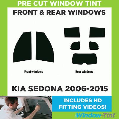 FULL PRE CUT WINDOW TINT KIT PH1 KIA SEDONA MPV 1999-2006