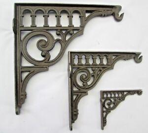 Cistern or Shelf Brackets Antique Cast Iron Sink