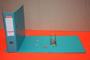 TempéRé 10 Classeurs Bleu Lavande Esselte Plastique Format A4 Dos 75 Mm 2 Anneaux Neuf Service Durable