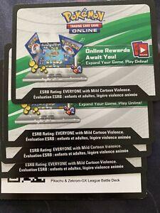 Pokemon-League-Battle-Decks-Pikachu-amp-Zekrom-GX-PTCGO-Code-Card-MESSAGED