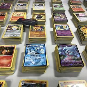 Pokemon-TCG-Assorted-100-Card-Bulk-Bundle-Lot-Holo-amp-Reverse-Holos-Included