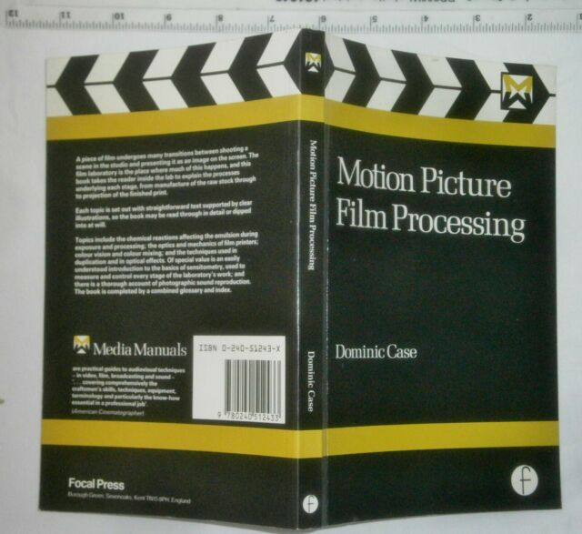 Motion Picture Film Processing by Dominic Case (Paperback, 1985)