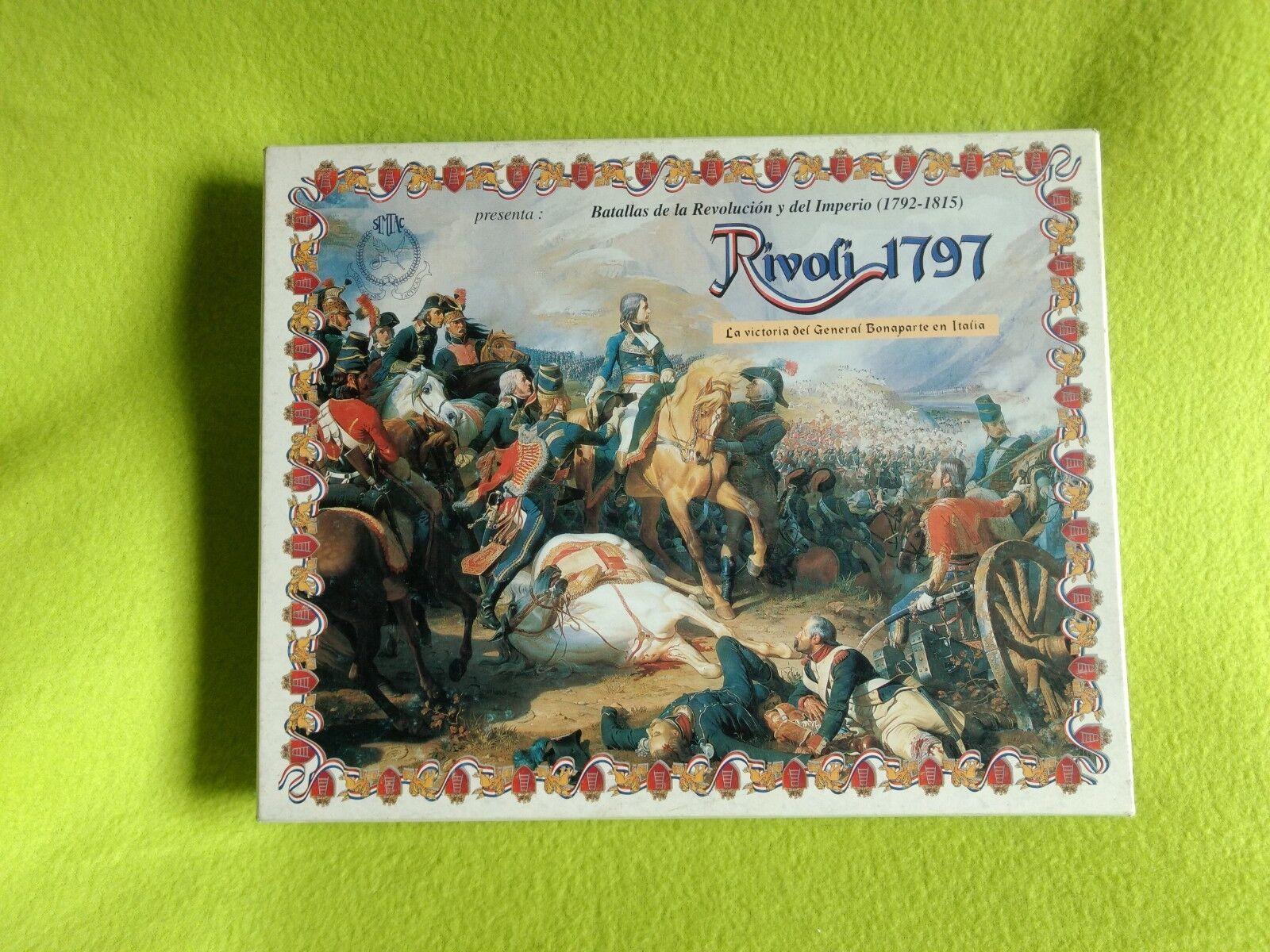 Rivoli Board juego de mesa ESPAÑOL baGröße de Rivoli Rivoli Rivoli 1797 simtac Juegos 310a2b