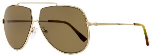 Tom Ford Aviator Sunglasses TF586  Chase-02 28E Gold//Amber 61mm FT0586