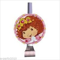 Strawberry Shortcake Princess Blowouts (8) Birthday Party Supplies Favors