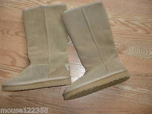 Skechers lined  boots  Leder  Größe 8