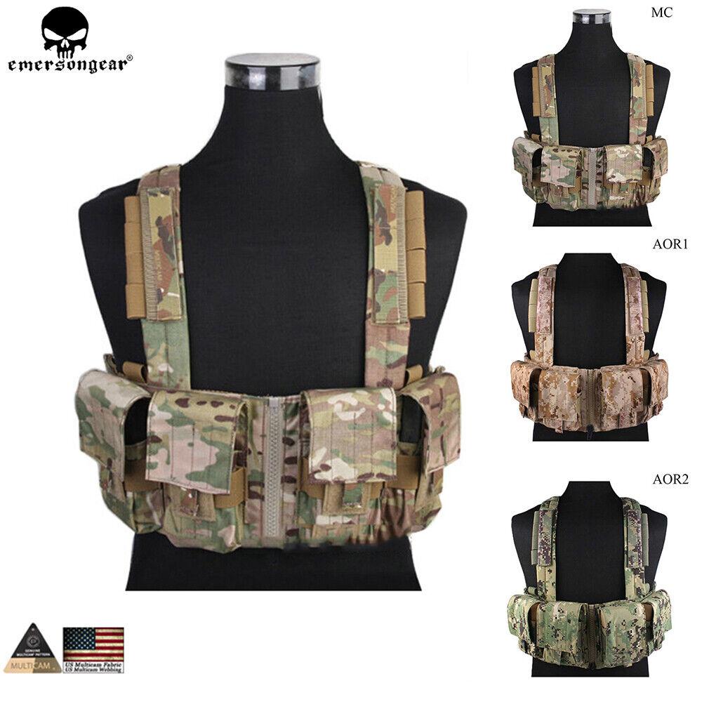 Emerson LBT1961K Tactical  Chest Rig Molle Combat Vest with 7.62 Magazine Pouch  cheap