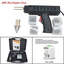 1 Set Car Bumper Universal 40W Hot Stapler Fairing Weld Gun Plastic Repair Tool