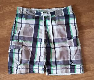 uomo di Pantaloncini con verdi Wood State blu motivo quadri bianchi a Cedar da rAwxr
