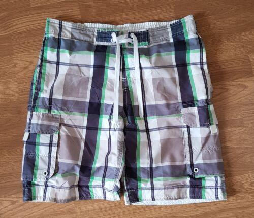 bianchi da a con Wood blu Pantaloncini di quadri uomo State motivo Cedar verdi ORwp6Tq