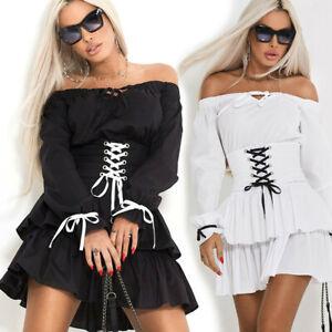 By-Alina-Damenkleid-Partykleid-Longshirt-Minikleid-Tunika-Kleid-34-38-C510