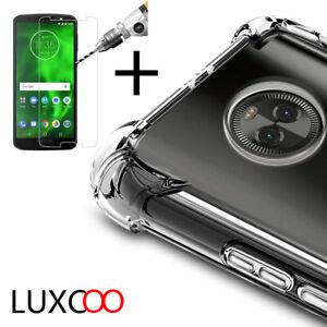 Motorola-moto-G6-G6Plus-G6Play-Antichoc-Silicone-Housse-Etui-Coque-VerreTrempe