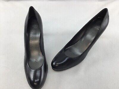 Stuart Weitzman Womens Blog Embossed Brown Snakeskin Heels Pumps Size 5 M