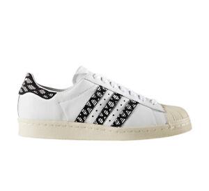 Details zu Adidas Originals Schuhe Sneaker Superstar 80s W BY9074 Weiß Damen NEU Gr 37 42