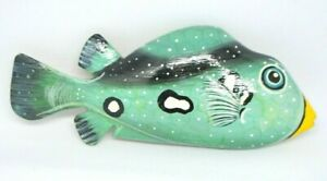 COLLECTIF-Fish-Blue-Green-Wooden-Hand-Painted-Pin-Brooch
