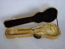 "GOLD ""AxeShield HD"" Satin Protection Shroud ATTACHES To Gibson/Epi Les Paul Case"